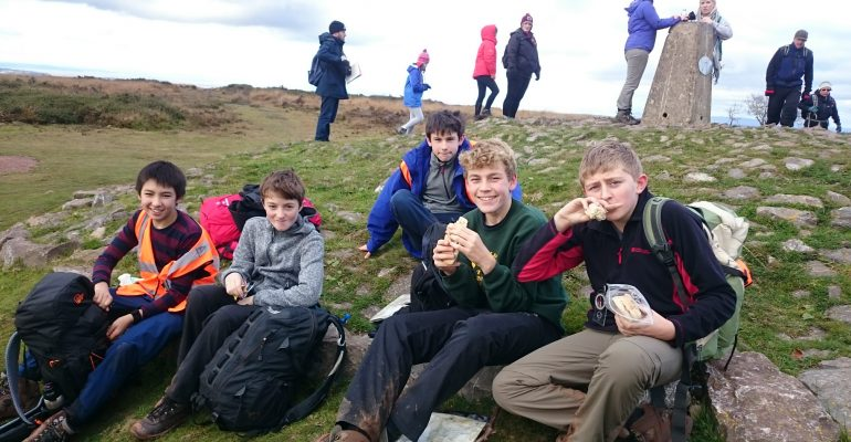 Ten Tors Nov 2016 training hike