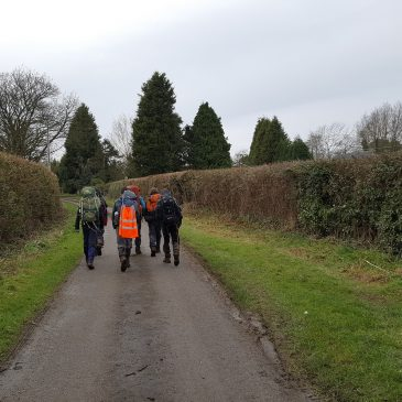 Shake Down Hike 28nd April 2018