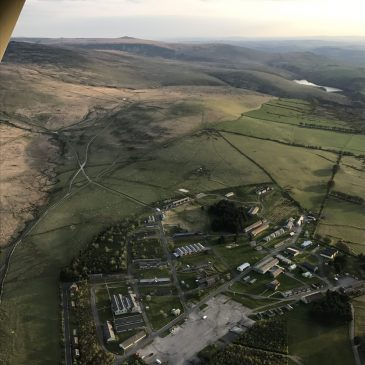 Okehampton from the Air