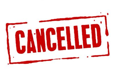 March hike cancelled